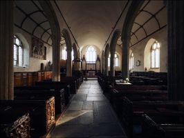Saint Giles Interior. by sags