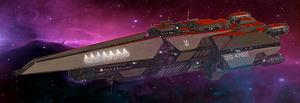 The Gate of Utopia: Utopia Company Command Ship by DECA-FADE