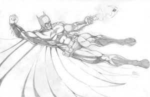 Batman 1 by seanforney