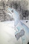 Day 4 - Favorite overall dino: Troodon by Evoblast99