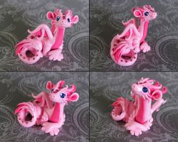 Pink Dragon by DragonsAndBeasties