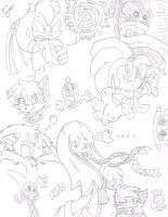 Characters... Characters Everywhere... by FritzyBeat