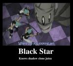 Black Star Motovational by Leahpire