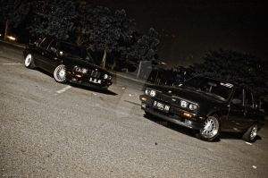 E30 Group Shot by anind