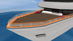 MMD Boat Stage by amiamy111