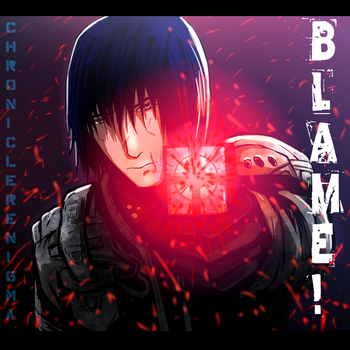 Killy from Blame  by ChroniclerEnigma