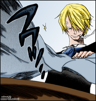 Sanji coloring, Grand Martini by AnnaHiwatari