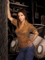 garage girl by Serio555