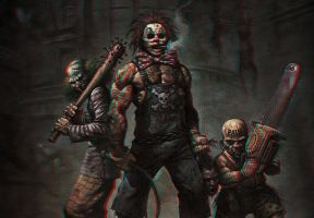 Killer Clowns 3-D conversion by MVRamsey