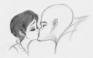 M  kiss by giulal