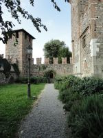 Path in the castle by Simbores