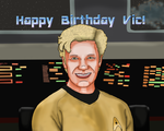 Vic Mignogna Birthday Postcard by Unigirl150
