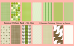 Summer Pattern Pack Vol. 1 by Camxso