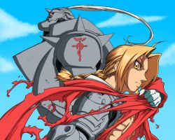 F.M.A elric brothers by ilyesgnei
