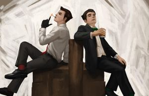 Legend of Korra - Classy Brothers by TimothyRidley