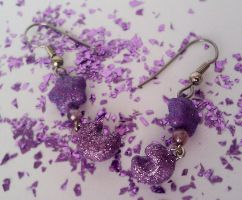 Stars and Cresents earings by maggmagg