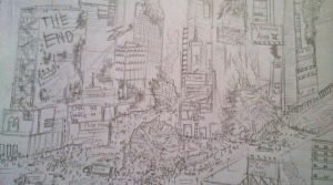 times square chaos by amadeus450