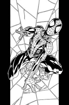 Mark Bagley's Ultimate Spidey 41 cover by VikThor