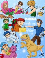 Original Digimon 4ever by 1amm1