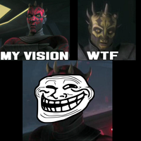 Darth Maul is a Troll by TheHuskyDog7