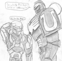 Halo vs. 40K by TheScorpion