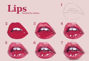 Anonymous Liked The Article Realistic Lips Tutorial In Art