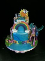 My Little Pony Cake by Spudnuts