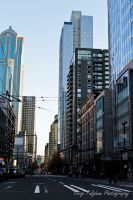 Downtown Seattle by littlenightmare93