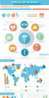 Medical Infographics Elements by LuxAeternaDesign