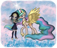 Magical friends for..... by mininessie66
