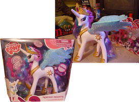 Princess Celestia Custom toy by Bloo-DKai12