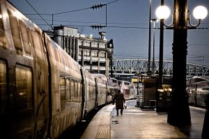 Gare du Nord, Paris by somebody3121