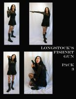 Fishnet Gun Pack 3 by LongStock