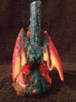 Dragon Candle Holder . . . . by Taz123321