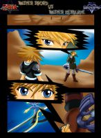 link vs sora  pag. 1 by mauroz