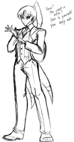 Tensho Butler Sketch by HoiGao