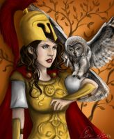 Pallas Athena by MonsieArts