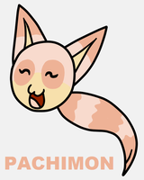 Digimon OC Pachimon by Maleiva