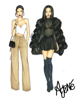 Fashionista Collection| Natalie Halcro by skitzzles