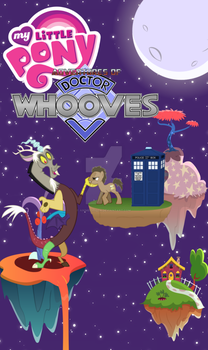 My Little Pony Adventures of Doctor Whooves Poster by AnimeCitizen