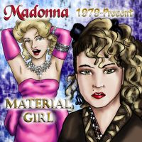 Music Collab - Madonna by dragondoodle