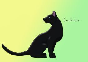 Crowfeather-colored by VampyKit