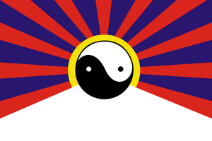 Neo-Tibet Flag by The-Artist-64