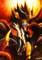 Human Predaking by xshiraminex