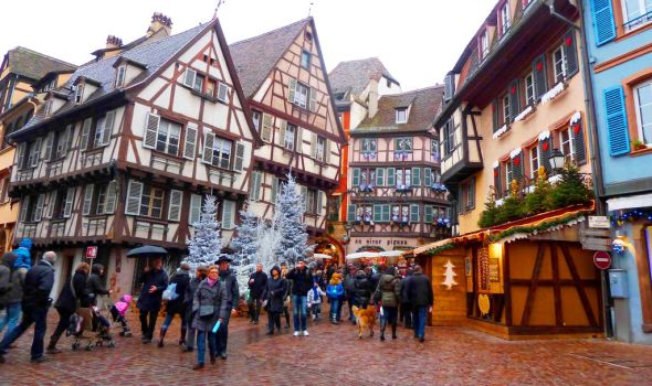 Christmas time in France by Cadaska