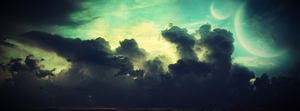 Colourful Sky - Facebook Timeline Banner by Nanonl