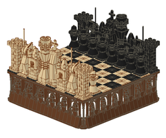 Chess Set by TMcIsrael