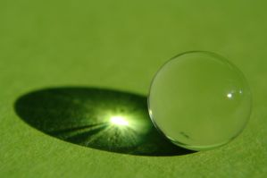Green - Light by Tricia-Danby
