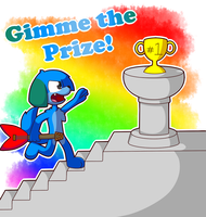 Gimme the Prize Remake by Explosion-drawing