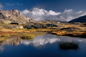 Patagonian scape... by vincentfavre